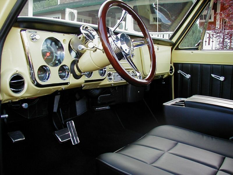 1967 72 C10 Custom Interior 67 72 Chevy Gmc Trucks Pinterest Interiors