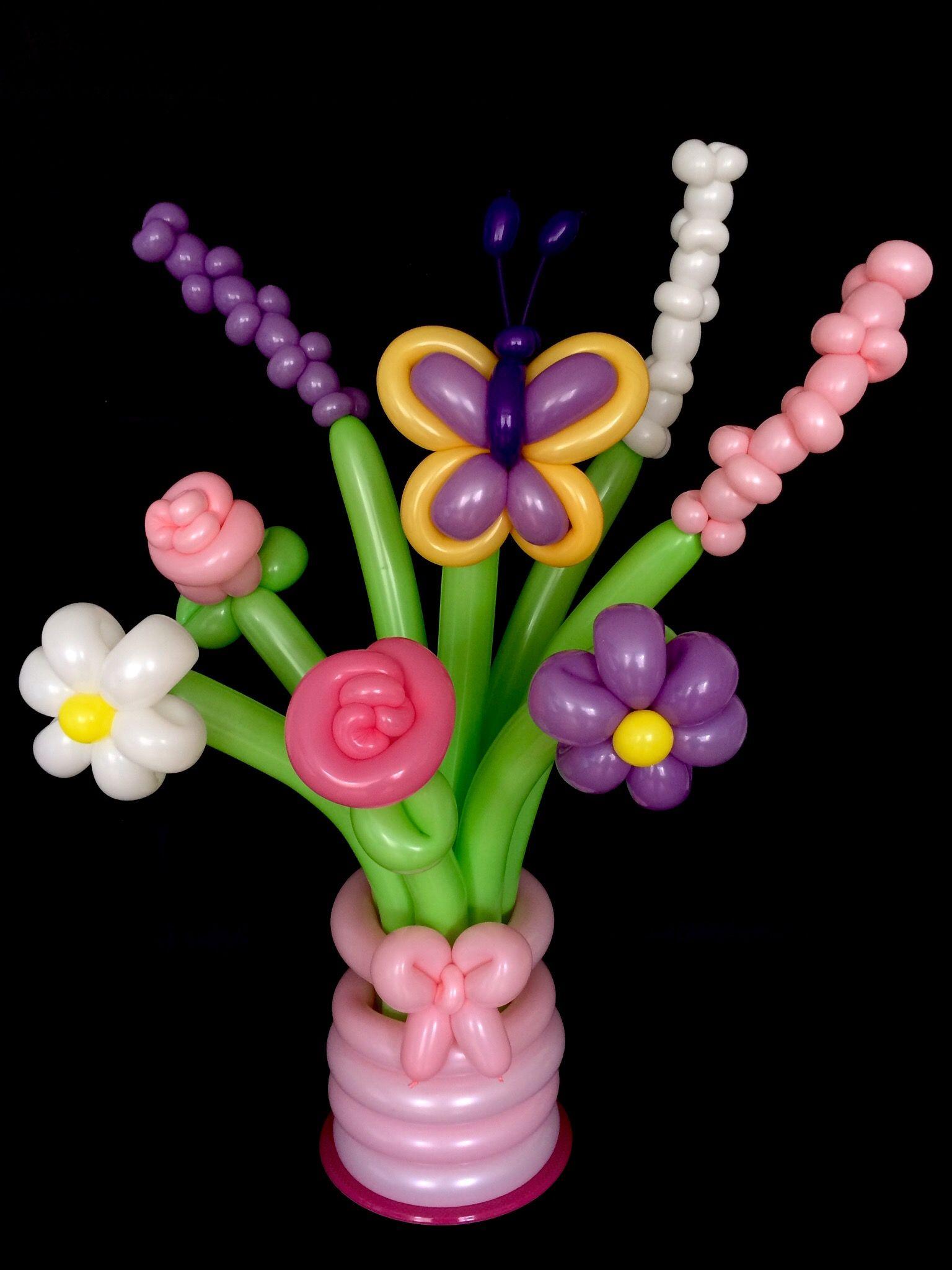 Flower Balloon Bouquet | balloon bouquets | Pinterest | Flower ...