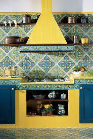Risultati immagini per piastrelle di vietri per cucina | Vietri ...