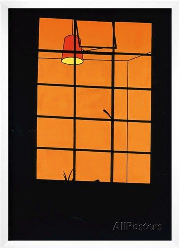 Window at Night, 1969 Print by Patrick Caulfield