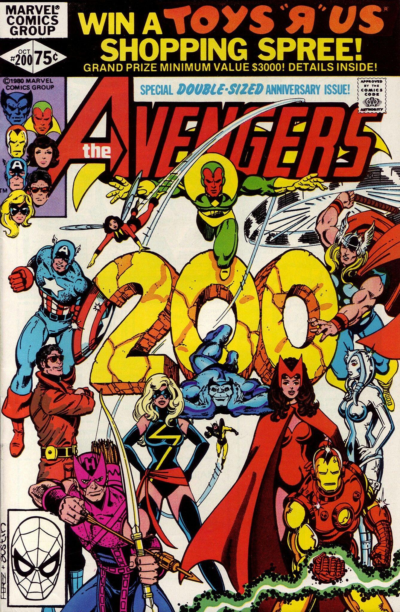 AVENGERS #225 VOL1 MARVEL BLACK KNIGHT RETURNS SCARCE NOVEMBER 1982
