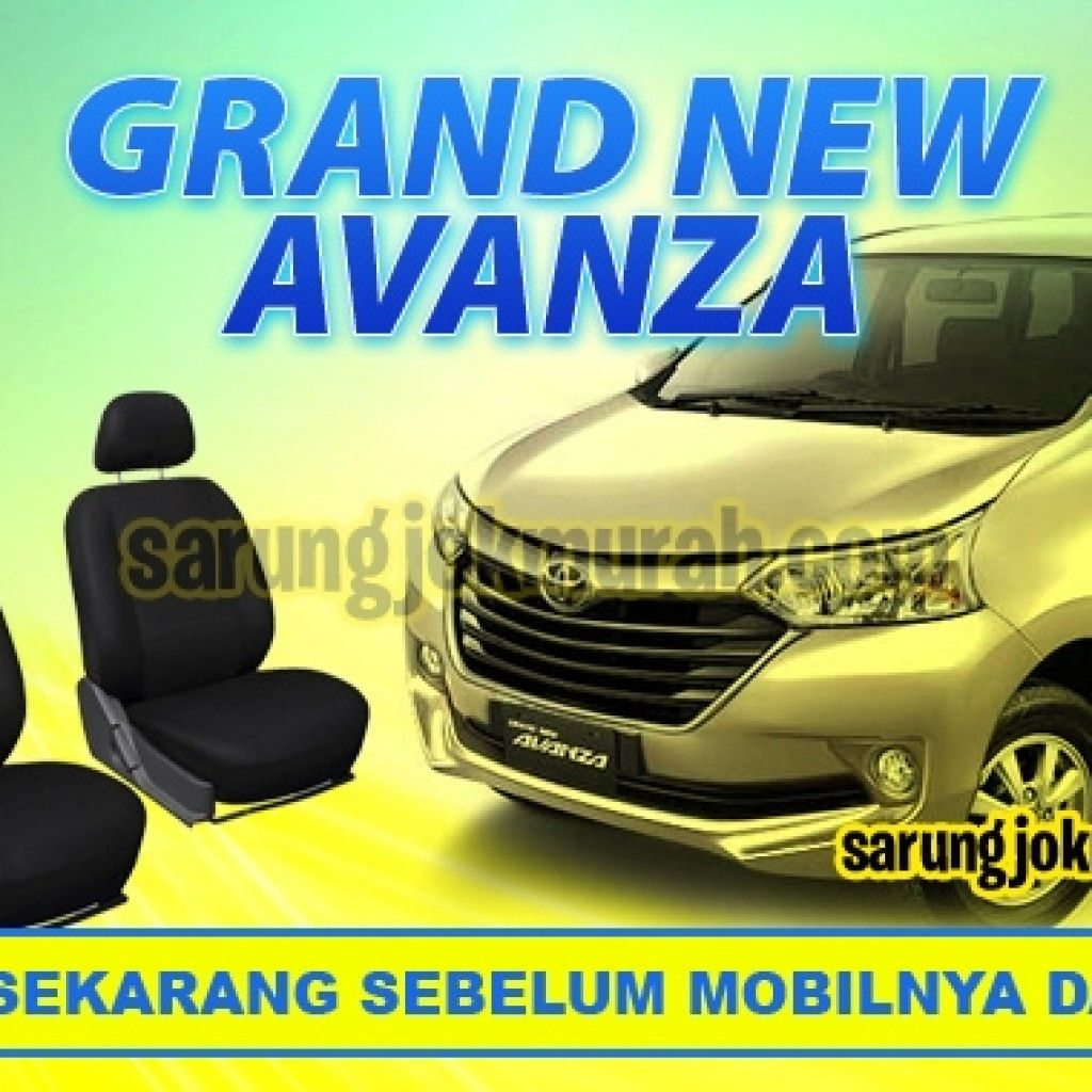 Cover Jok Grand New Avanza E 2015 Sarung Mobil Pinterest