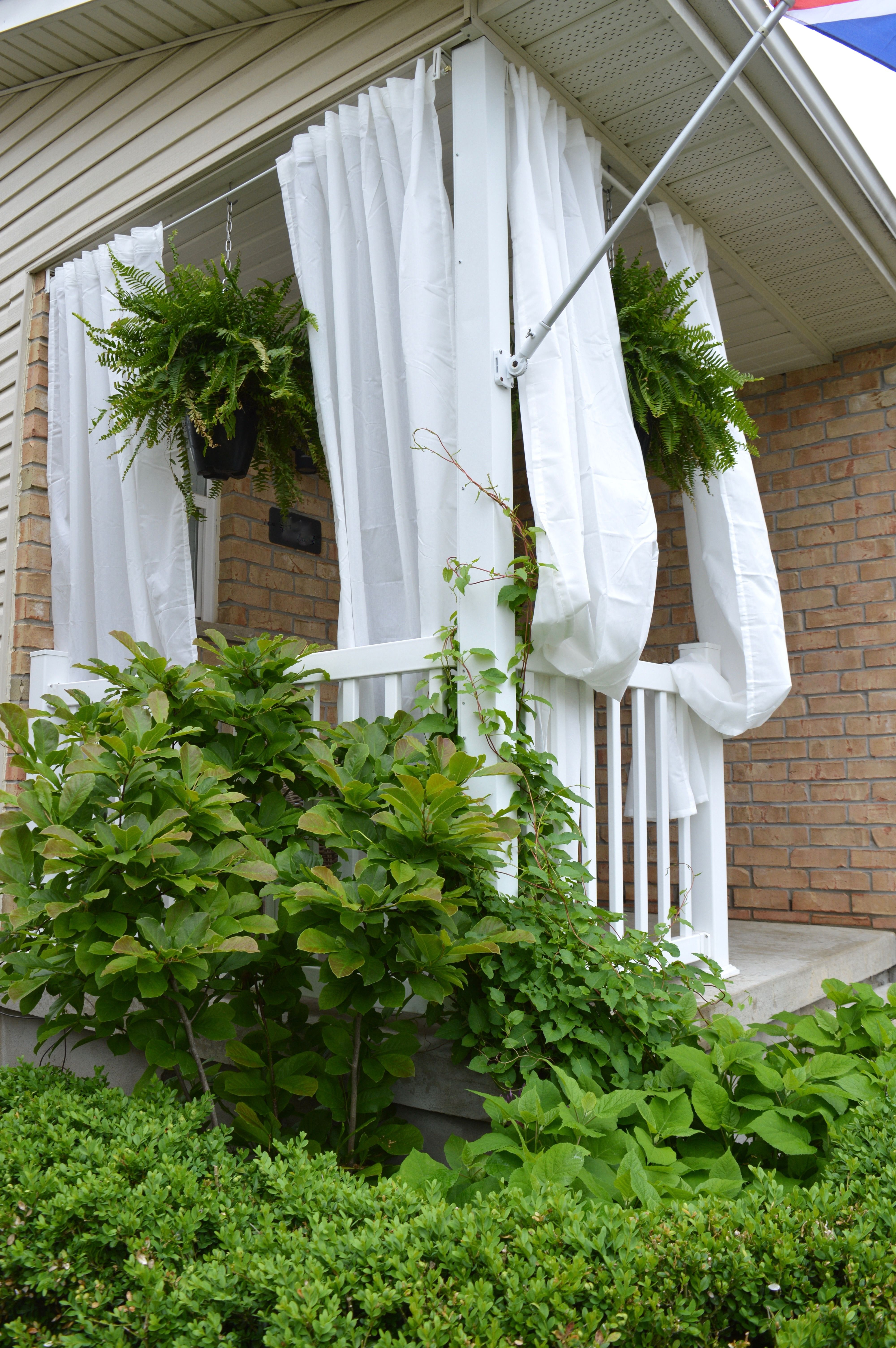 My Ikea Front Porch Makeover With Images Porch Makeover Front