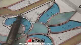 How To Make Layout Strips For Stained Glass Youtube Stained Glass Diy Stained Glass Making Stained Glass