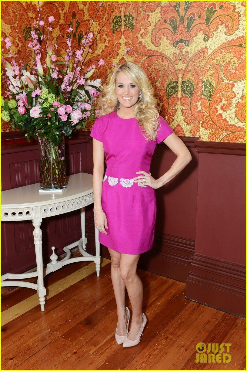 Carrie Underwood: Katherine Feiner dress, Giuseppe Zanotti shoes and ...