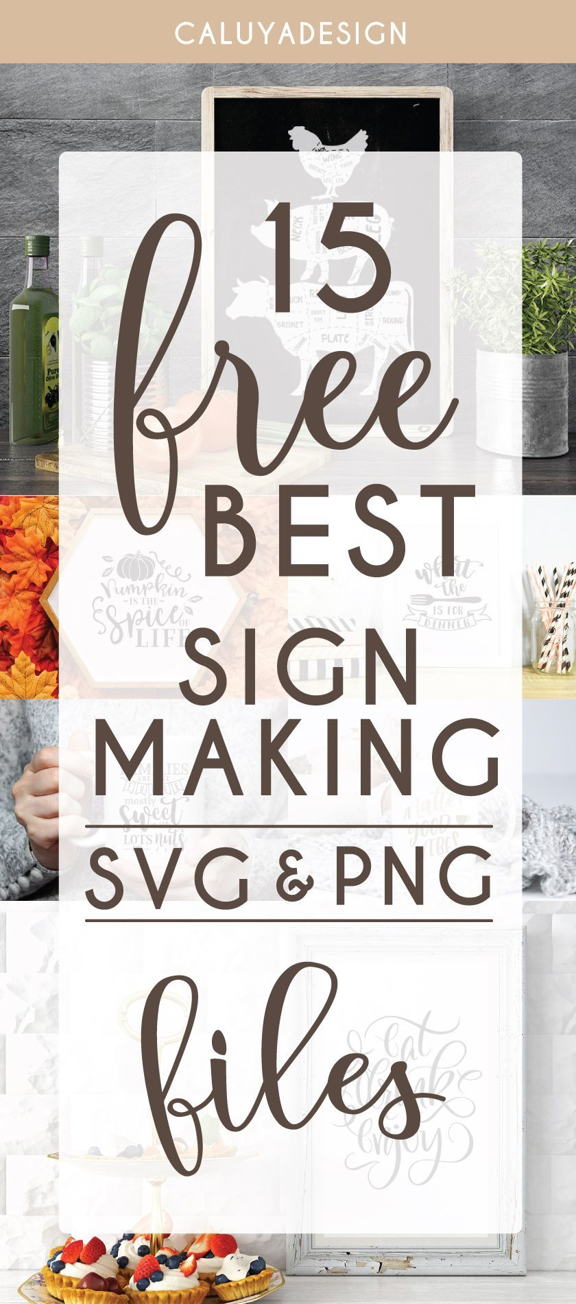 15 FREE Sign Making SVG & PNG Files You Need to Download