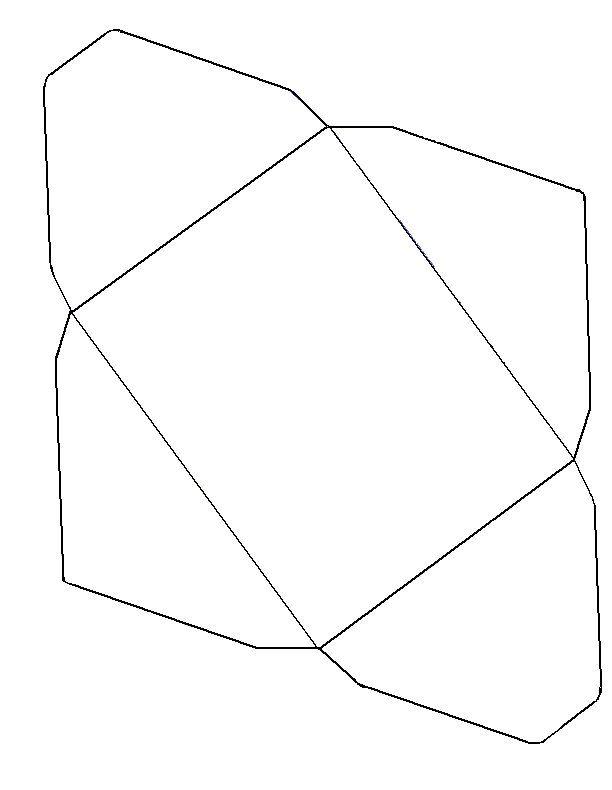 A Envelope Template  Random    Atividades Envelopes