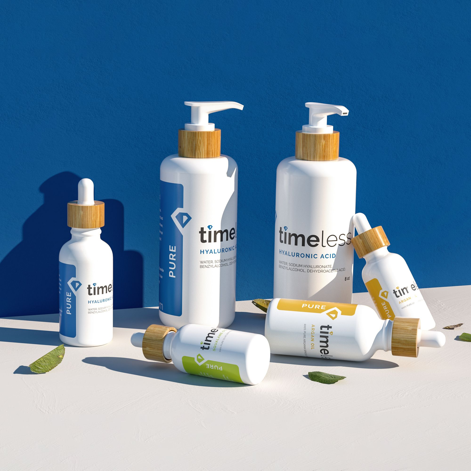 New Look Same Amazing Formulas Timeless Skin Care Pure Products Paraben Free Products