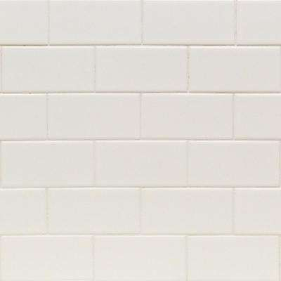 Essential White 3 In X 6 In X 6mm Matte Ceramic Subway Wall Tile 1 Sq Ft With Images Tiles Ceramic Wall Tiles Subway Tile