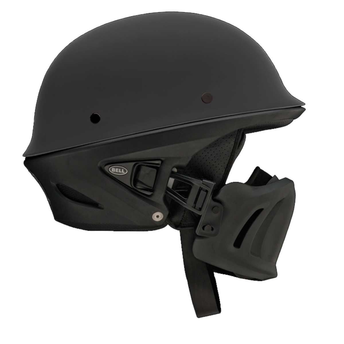 Amazon.com: Bell Rogue Unisex-Adult Half Street Helmet (Solid Matte Black,  Large) (D.O.T.-Certified): BELL: Automotive
