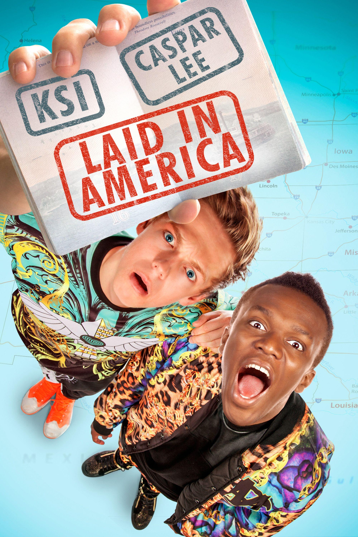 Laid In America Movie Poster - KSI, Caspar Lee, Bobby Lee ...