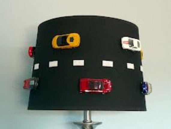 Race Car lamp Shade FREE SHIPPING!!! | KIDS Space- Study ...