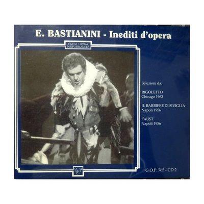 """IN SALOTTO CON ETTORE -        Associazione Internazionale Culturale Musicale               """"Ettore Bastianini"""" Rigoletto Chicago 1962! Buon ascolto!"""