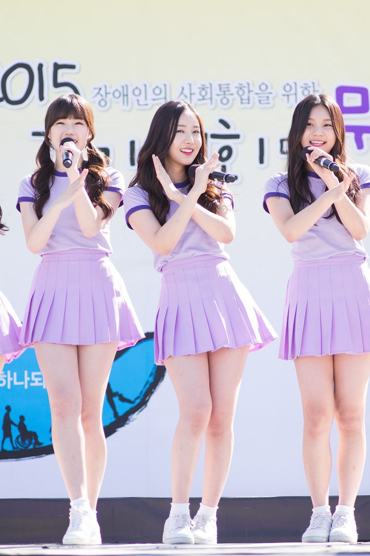 Kurvige koreanische Mädchen