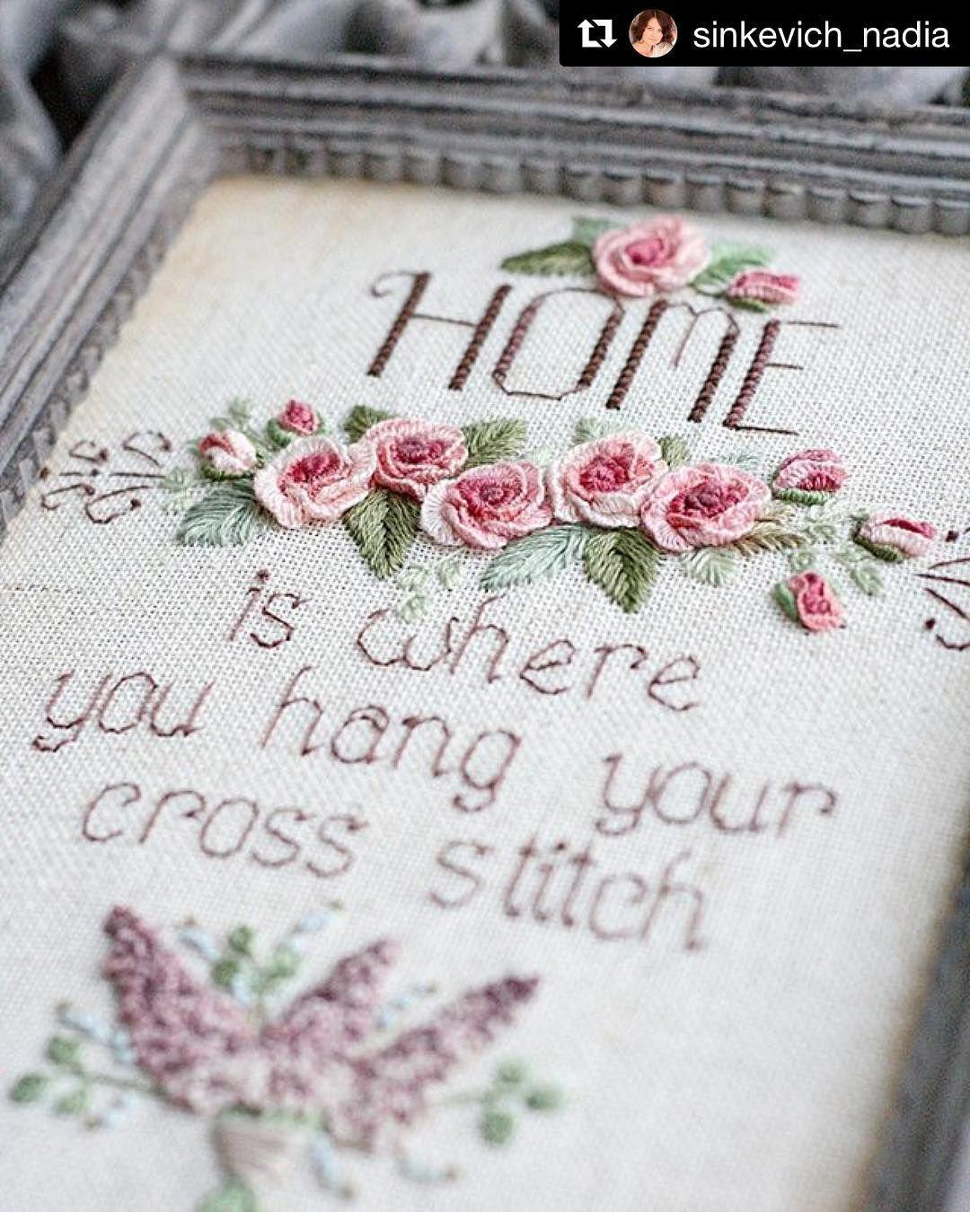 @sinkevich_nadia #handembroidery #needlework #ricamo #broderie #embroidery #bordado