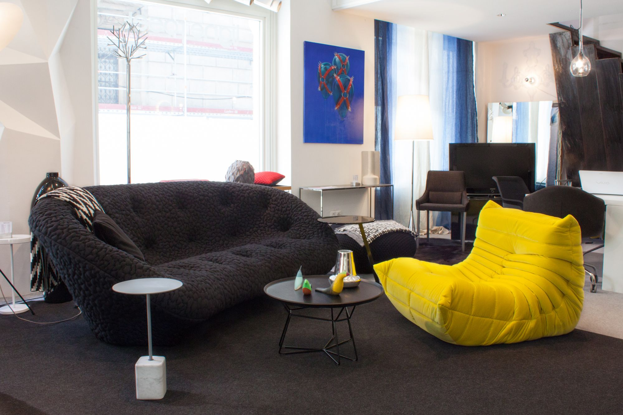 Sofa Ploum Design By Ronan Erwan Bouroullec For Ligne Roset