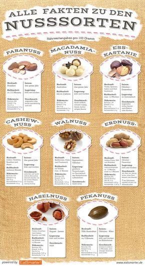 Die 10 beliebtesten Nüsse im Check #kleinekräutergärten