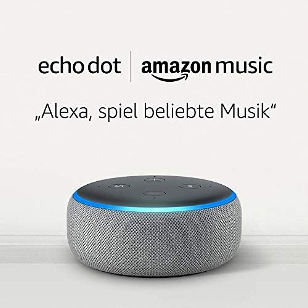 Echo Dot 122rd Gen Hellgrau Stoff 12 Monat Amazon Music Unlimited für