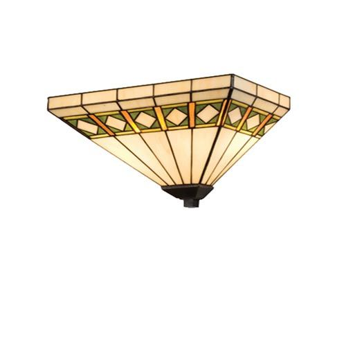 14.5-Inch Diamond Mission Wall Sconce 150