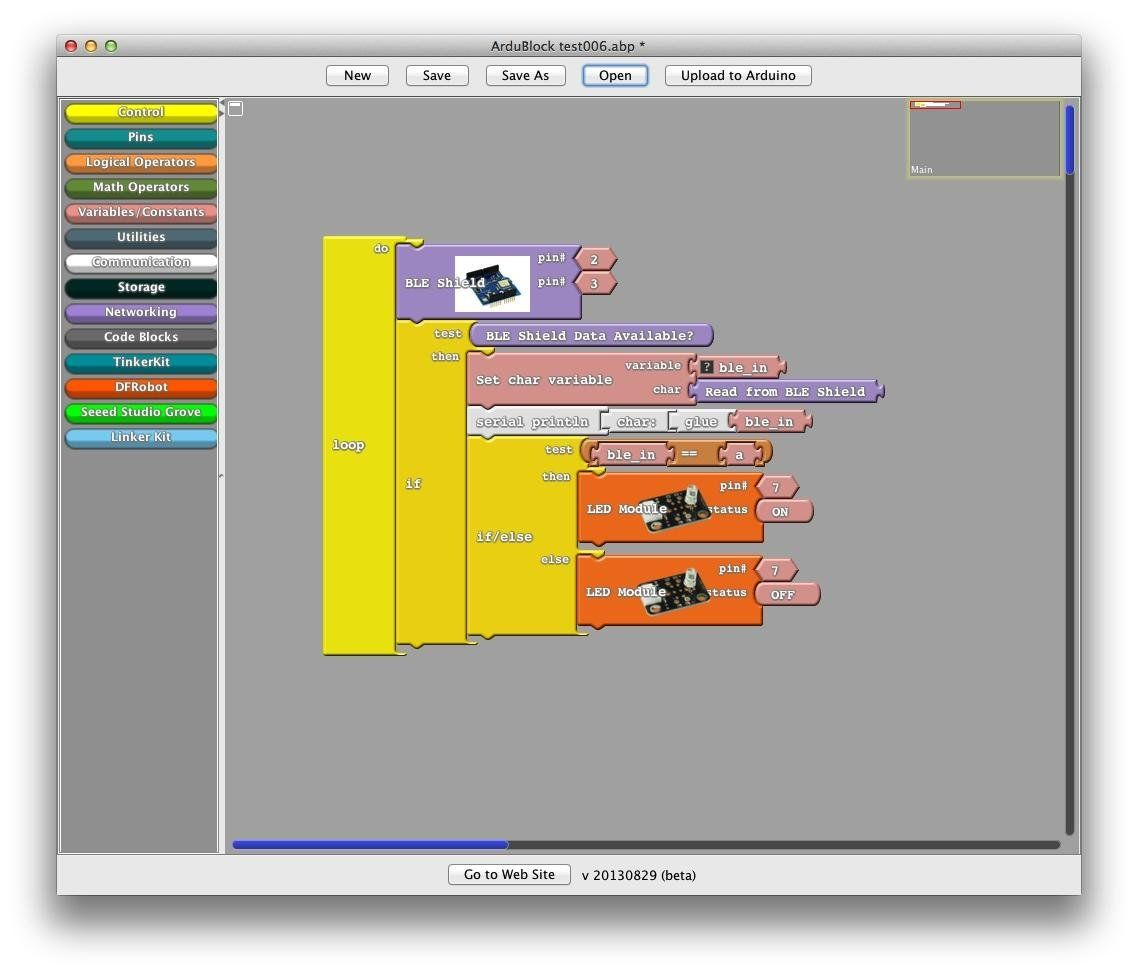 Download Ardublock For Free Visual Programming Environment For Arduino Visual Programming Environment For Arduino Arduino Coding Code Blocks