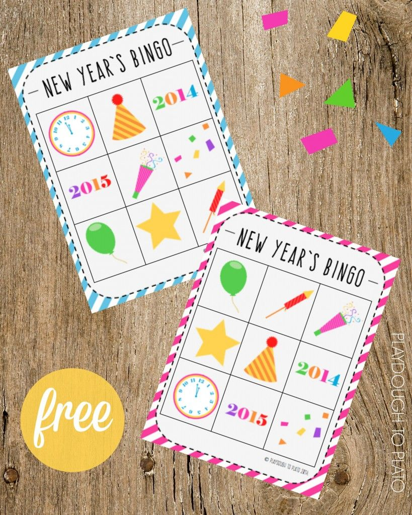 new year 39 s eve bingo silvester pinterest silvester party und weihnachten. Black Bedroom Furniture Sets. Home Design Ideas