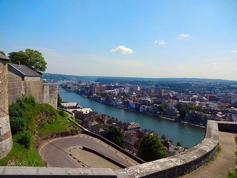 Citadel of Namur View of La Meuse Namur, Citadel, Views