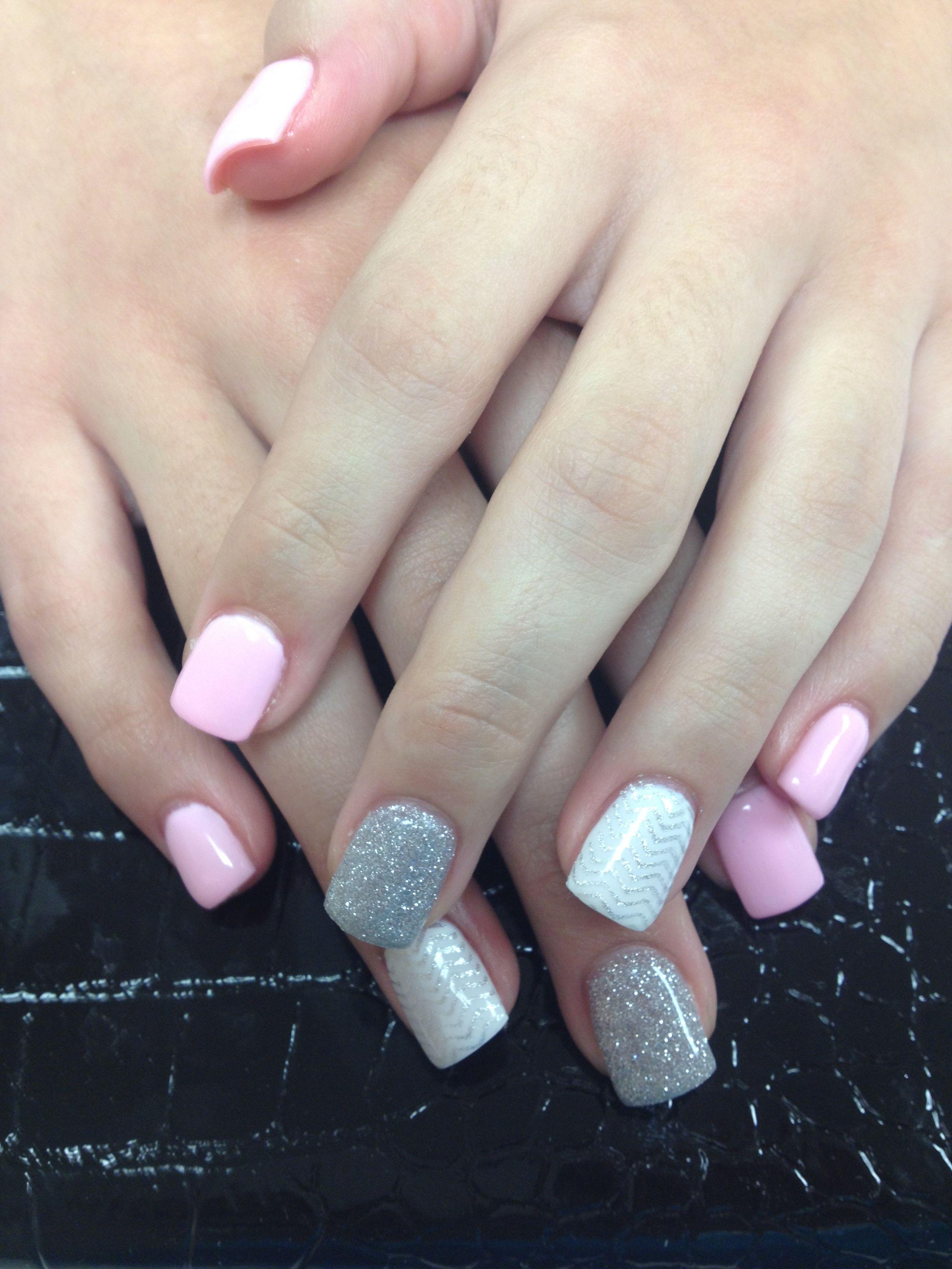 Nails full color gel   nails   Pinterest