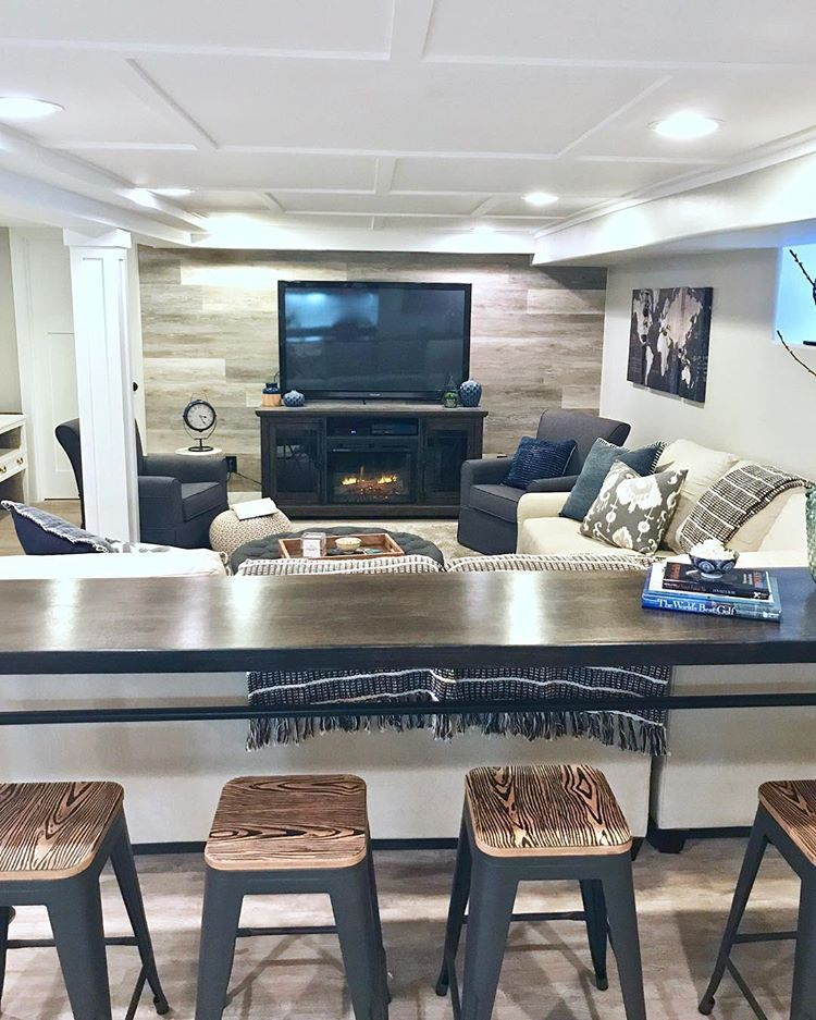 If You Like Fixer Upper You're Gonna Love This Basement