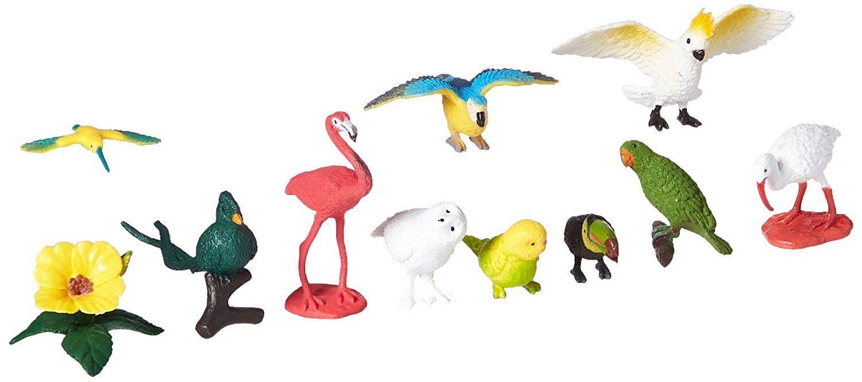 Green Budgie Wings Of The World Figure Safari Ltd NEW Toys Educational Figurine