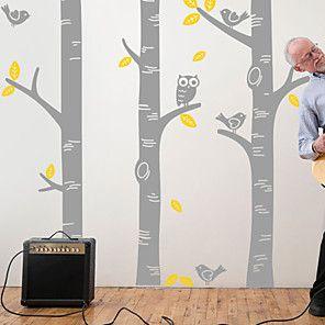 Wall Stickers | LightInTheBox | Birch tree wall decal ...