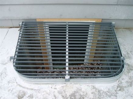 Metal Grate Window Well Cover House Ideas Window Well