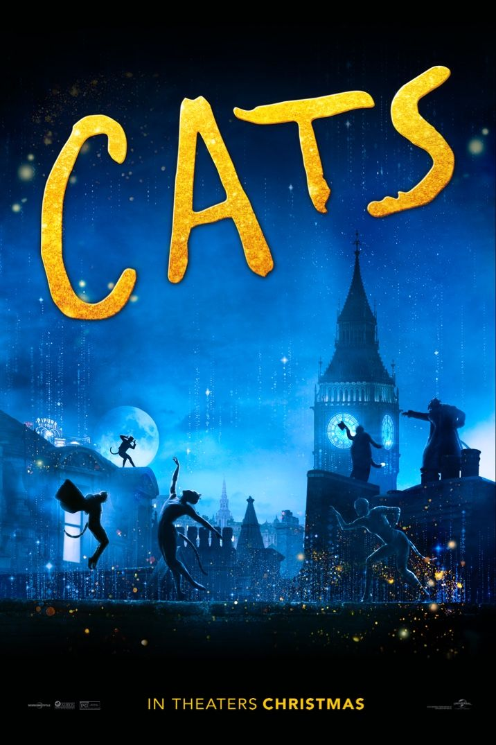 Cats Get Tickets December 20 2019 in 2020 Cat movie