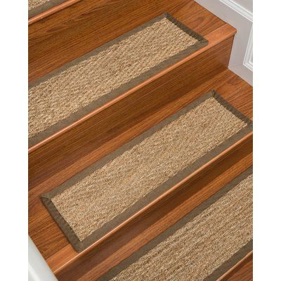 Best Rosecliff Heights Soperton Seagrass Carpet Stair Tread In 400 x 300