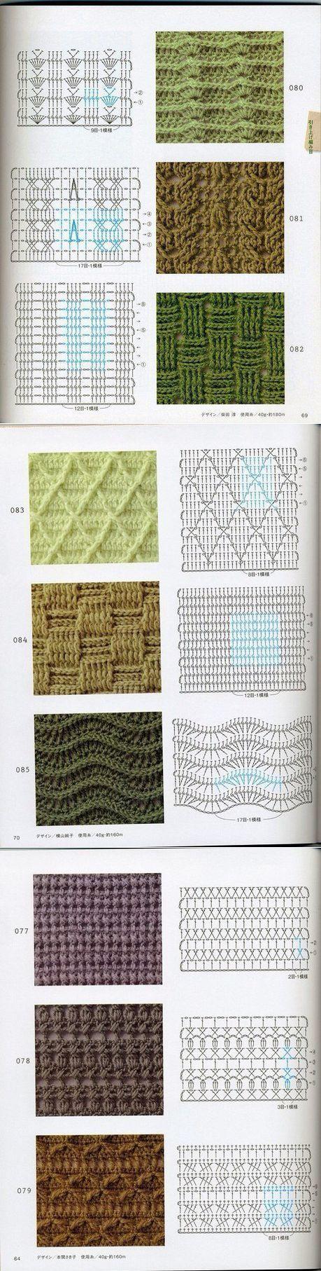 vk.com | crochet | Pinterest | Ganchillo, Puntadas y Puntos