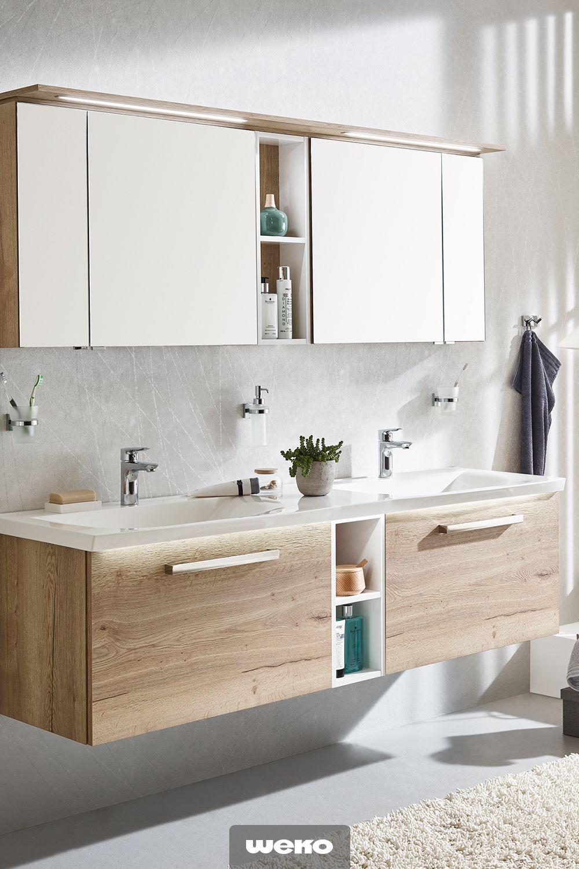 Die Passenden Mobel Fur Dein Bad Badezimmer Einrichtung Spiegelschrank Bad Holz Badezimmer Unterschrank