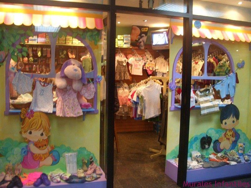 Vitrinas de tiendas infantiles buscar con google for Como decorar una vitrina
