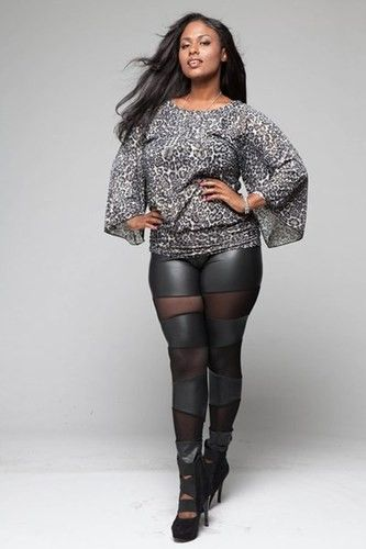 e39e507d5ac Women S Plus Size Faux Leather Mesh Leggings Comes IN 1XL 2XL AND 3XL Black   leather  leggings  tights www.loveitsomuch.com