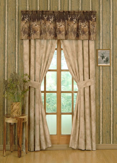 Cowboy Style Kitchen Country Curtains And Rustic Window