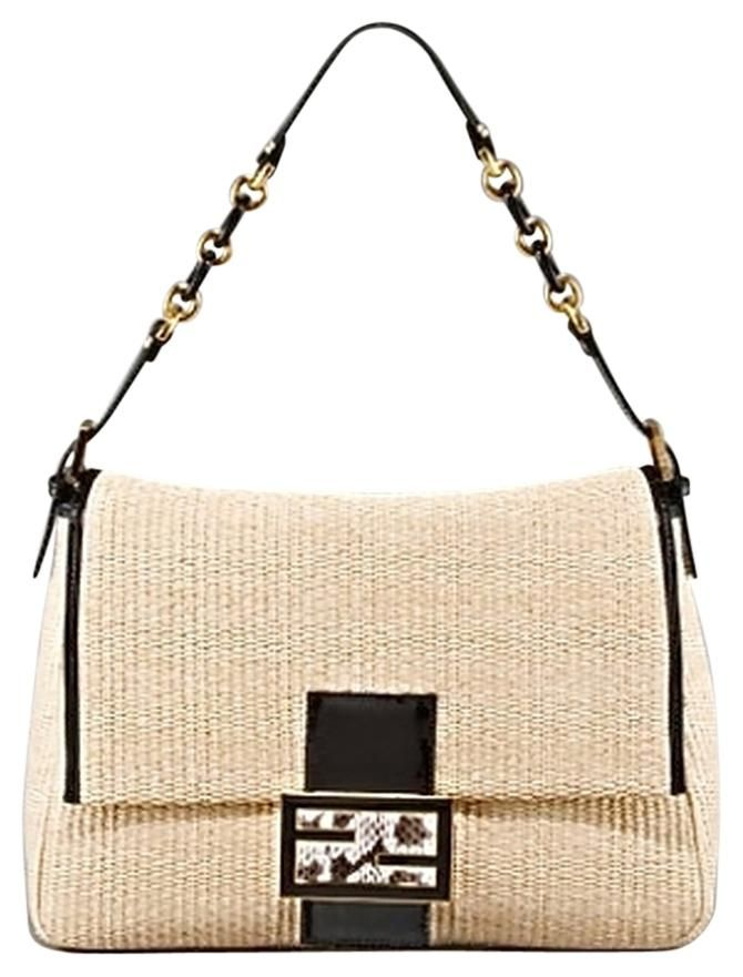 Get one of the hottest styles of the season! The Fendi Big Mama Straw Flap Shoulder  Bag is a top 10 member favorite on Tradesy. 3e22cece7bfae