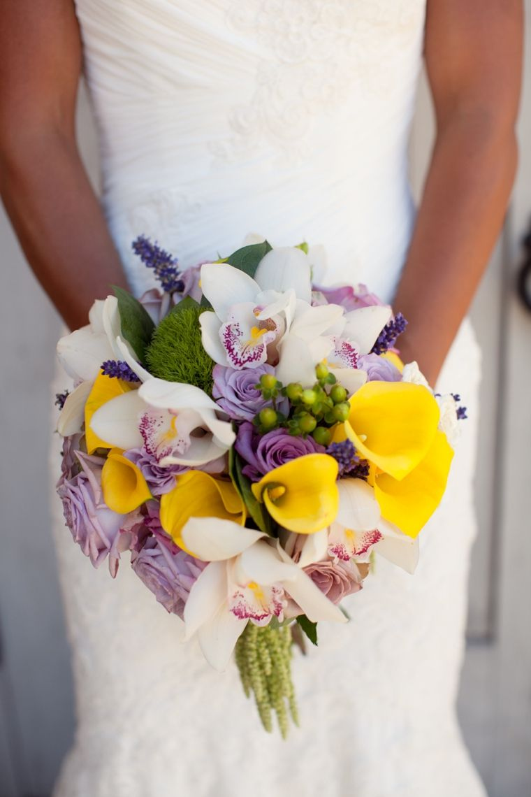 A California Lavender and Yellow Wedding | Every Last Detail