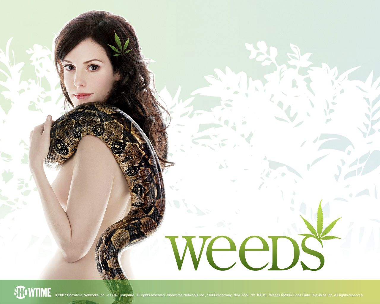 Weeds the final season is on...yeah baby. Getting high one last ...