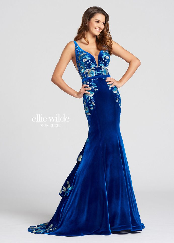 Ellie Wilde EW118117- Formal Approach Prom Dress  5897e9b8a