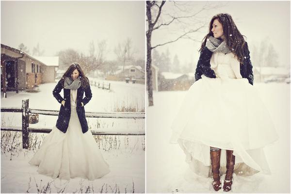 Cozy Holiday Season Wedding Style Winter Dresseswinter Weddingswinter Coatwedding