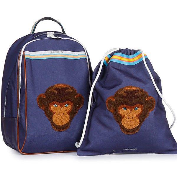 c2aafa459af Jeune Premier - rugzak - zwemzak - turnzak - Monkey #schoolbag #cartable  #schulranzen