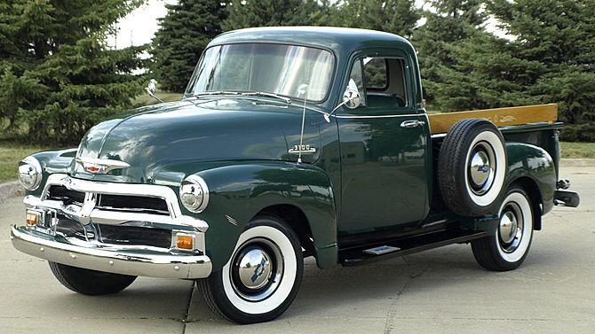1954 Chevrolet 3100 Bermuda Green Chevrolet 3100 Chevrolet