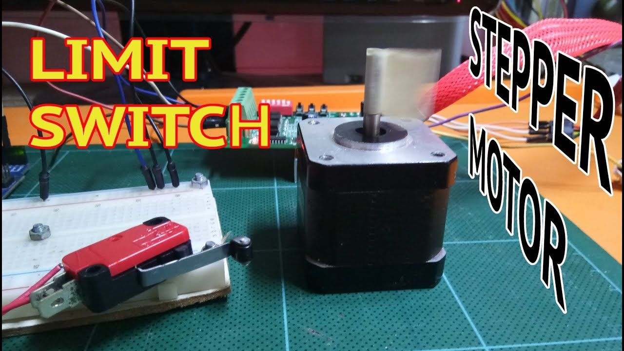 Stepper Motor With Limit Switch Arduino Basic Usage Stepper