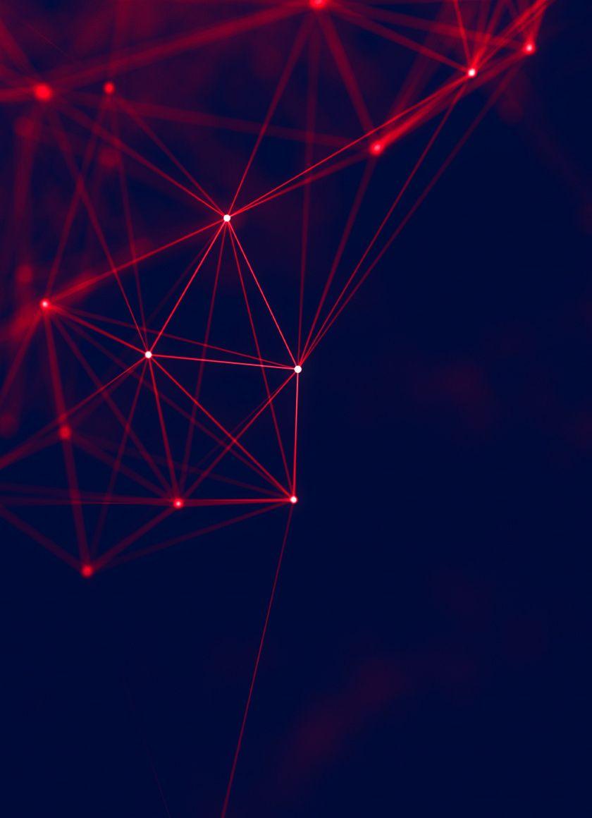 Red Lines Structure Geometry Dark 840x1160 Wallpaper