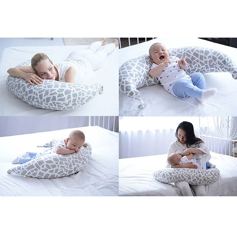 Baby Breast Feeding Pillow Nursing Breastfeeding Support Cushion C