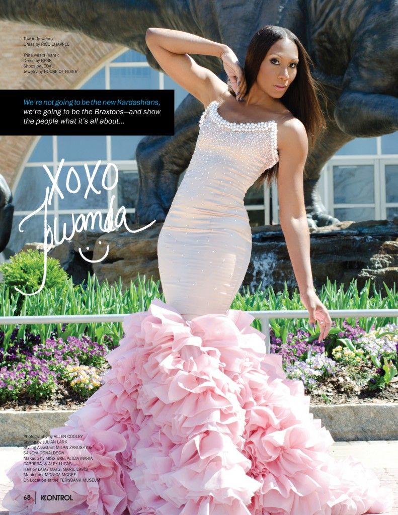 Braxton tamar wedding dress photo 2019