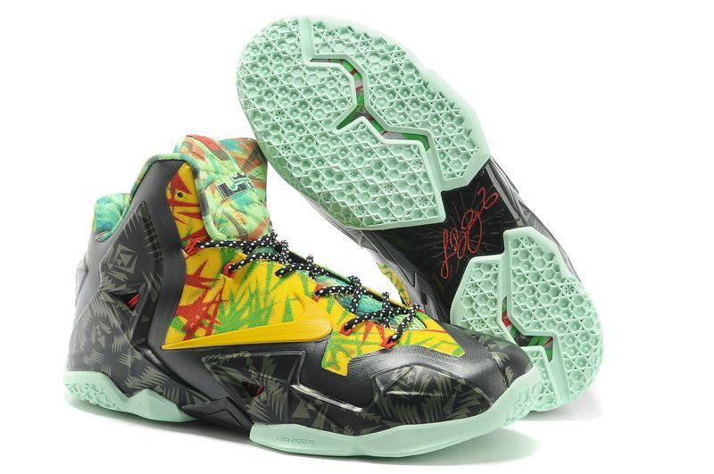Buy Nike LeBron 11 Championship Custom Discount